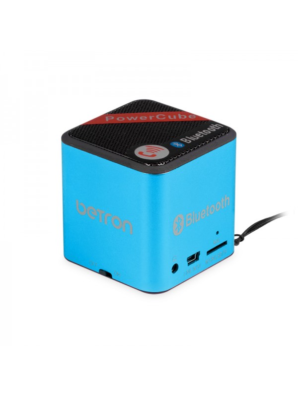 Power Cube Portable Bluetooth Speaker - Blue