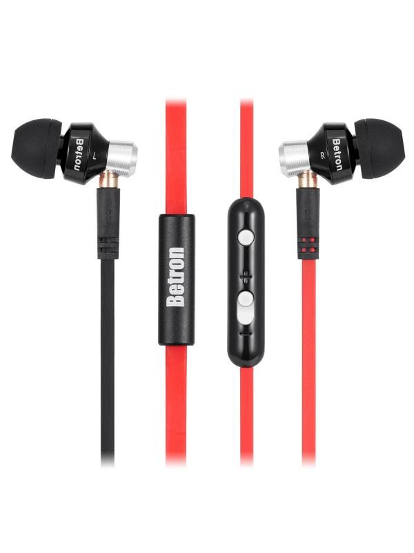 DC950 In-Ear Headphones with Microphone - Black