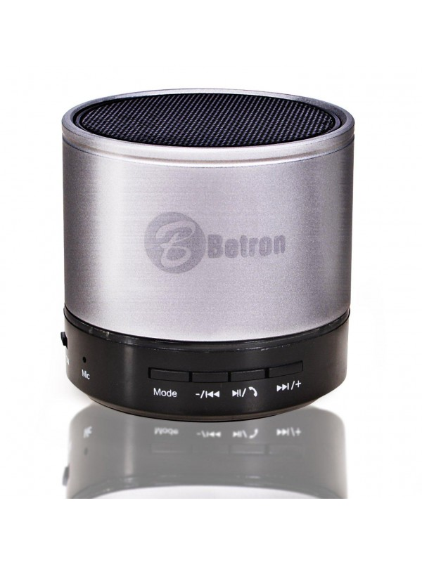 KBS08 Bluetooth Portable Travel Speaker - Silver
