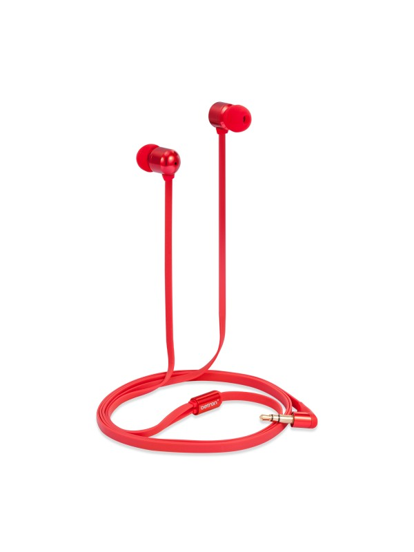 B850 Noise Isolating Earphones - Red
