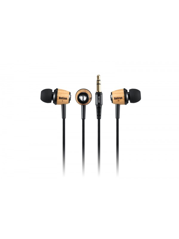 Wood Noise Isolating In-Ear Heaphones