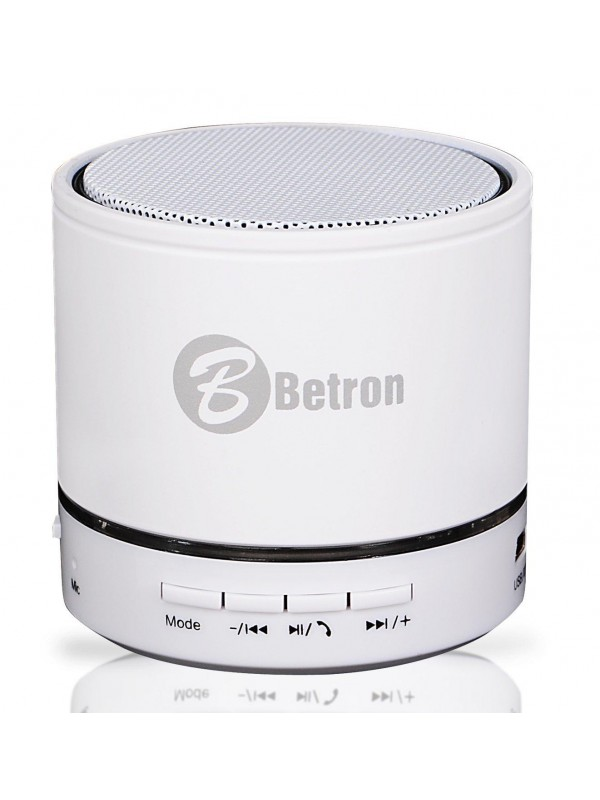 KBS08 Bluetooth Portable Travel Speaker- White