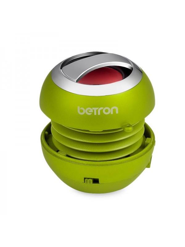 Betron BPS60 Mini Portable Wireless Bluetooth Speakers - Green