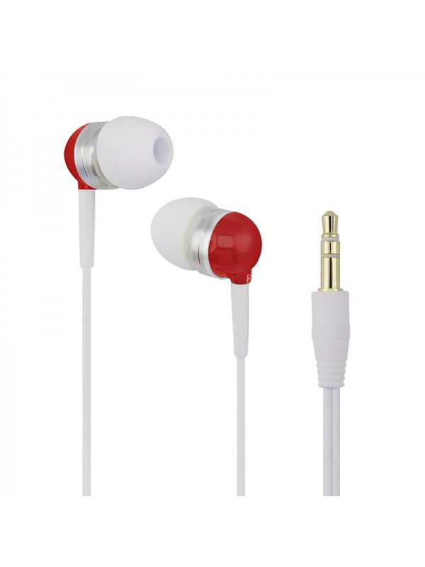 B630 Noise Isolating Earphones - Red